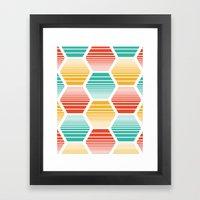 Honey Jive - Summerlicio… Framed Art Print