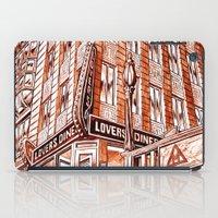 Lovers Diner iPad Case