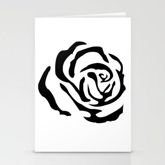 rose 1 Stationery Card