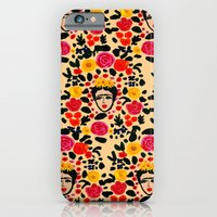 iPhone & iPod Case featuring Frida by Bouffants and Broken Hearts