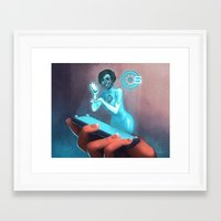 PAD Campaign Framed Art Print
