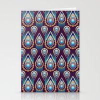 Turkish Blue Stationery Cards