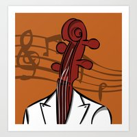 Music In My Head Art Print