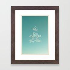 andorinha Framed Art Print