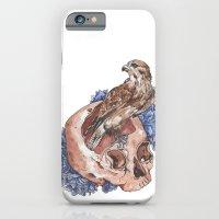 Hawk And Skull iPhone 6 Slim Case