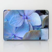 Hydrangea Happy iPad Case