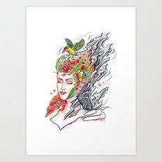 Art of Letting Go (2) Art Print