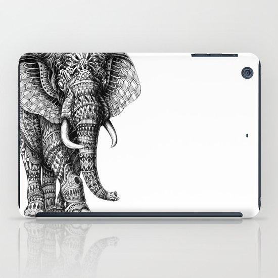 Ornate Elephant v.2 iPad Case