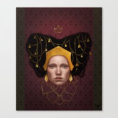 Gold Wire Canvas Print