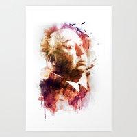 ALFRED HITCHCOCK Art Print