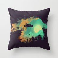 Throw Pillow featuring Leap Of Faith by Budi Kwan