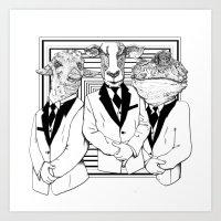 UZUNIMALS Art Print