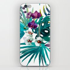 Tropical Watercolor Pattern iPhone & iPod Skin