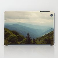 THE LIGHT THROUGH THE CLOUDS iPad Case