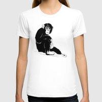 monkey T-shirts featuring Monkey by takmaj
