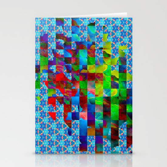 Cubed Stationery Card
