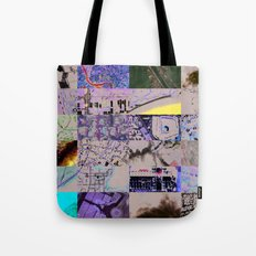 The World From my Computer  Tote Bag