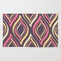 Vintage Abstract Pattern Rug