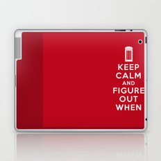 Keep Calm and Figure Out When Laptop & iPad Skin