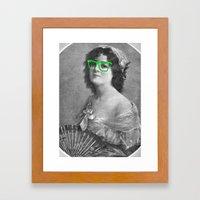 Josephine Is A Hipster Framed Art Print