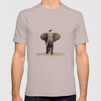 friends for life  Mens Fitted Tee Cinder SMALL