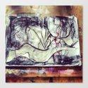 Sketchbook Canvas Print