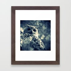 OWL - CROSS/PROCESS Framed Art Print