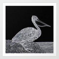The Pelican Art Print
