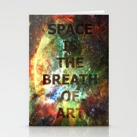 The Breath Of Art Stationery Cards