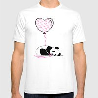 In Love Mens Fitted Tee White SMALL