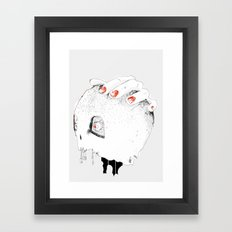 Bang bang Framed Art Print