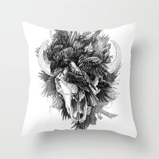 Cycle Throw Pillow
