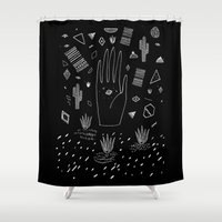 SPACE DREAMS Shower Curtain