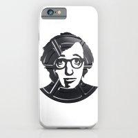 iPhone & iPod Case featuring Woody Allen by Alejandro de Antonio Fernández