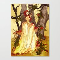 The Goblin Market Canvas Print