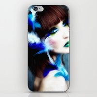 Feathered Beauty iPhone & iPod Skin