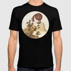 The Journey  SMALL Mens Fitted Tee Black
