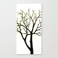 WHITE TREE Canvas Print