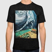 VISIONS 1.0 Mens Fitted Tee Tri-Black SMALL