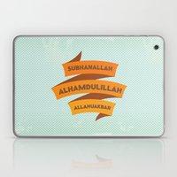 Subhanallah Alhamdulillah Allahuakbar Laptop & iPad Skin
