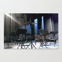 The Stage Canvas Print
