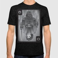 The King Of Siths Mens Fitted Tee Tri-Black SMALL