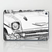 Vintage Car Black And Wh… iPad Case