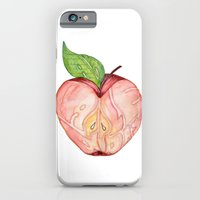 iPhone & iPod Case featuring An apple a day by paintrust