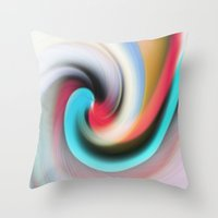 Whirl #2 Throw Pillow