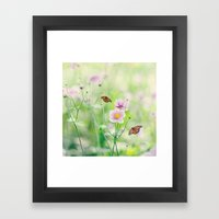 In The Garden Of Bliss Framed Art Print