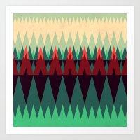 Living In The Summerwood… Art Print