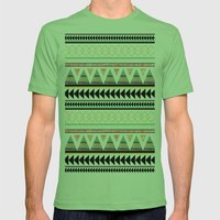 Aztec 3 Mens Fitted Tee Grass SMALL