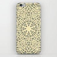 Mandala 4 iPhone & iPod Skin