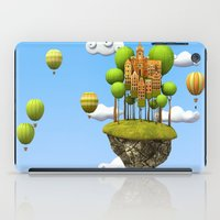 New City in the Sky iPad Case